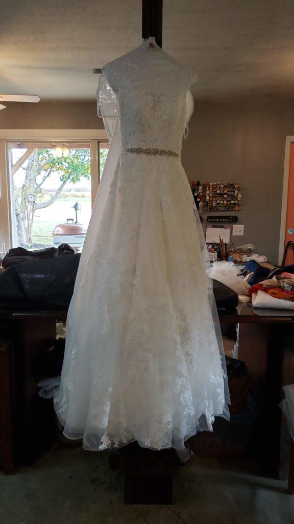 dress pre-dyeing