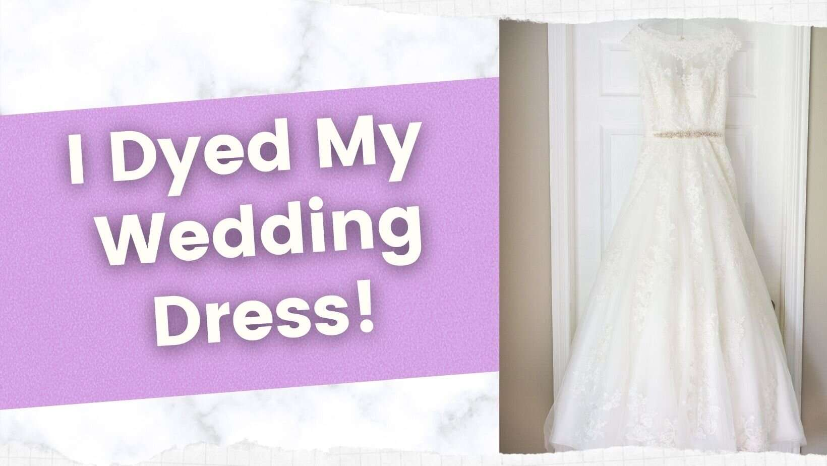 Dyed wedding dress featured image