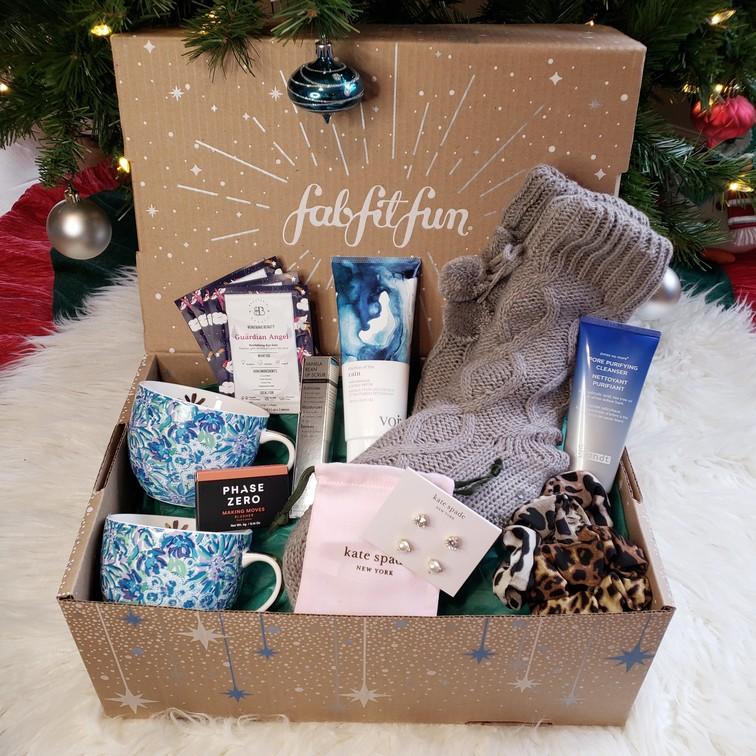 Fabfitfun Winter Box Unpacked