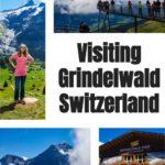 Visiting Grindelwald Switzerland Pin