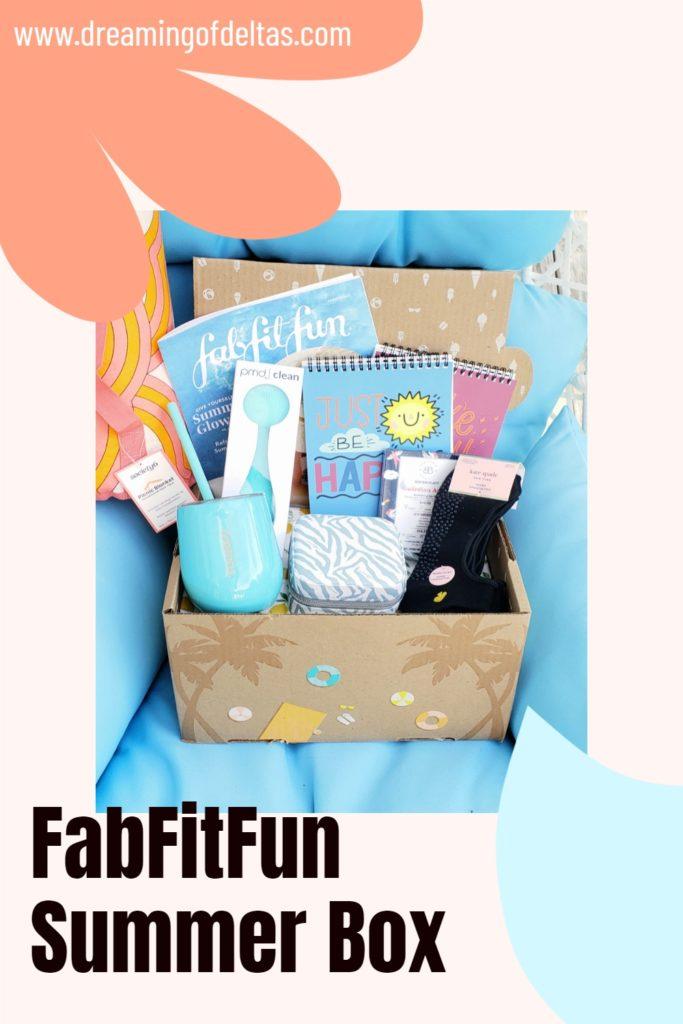 Fabfitfun summer pin